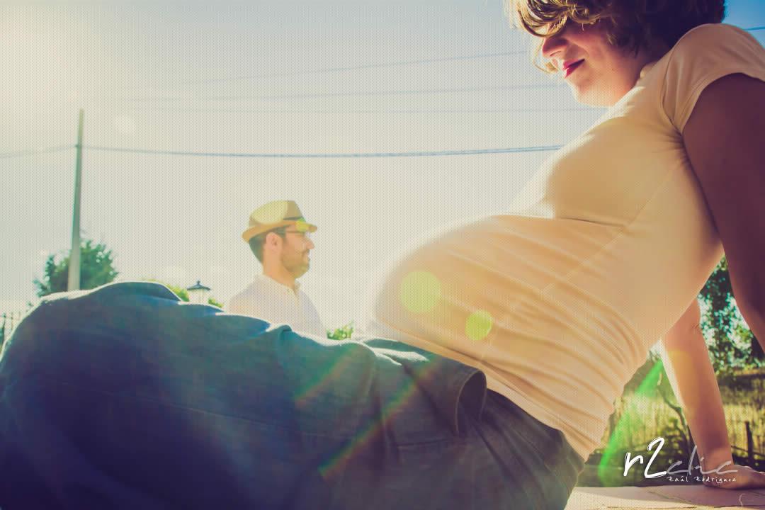 Sesión de embarazo en exteriores – Casar de Cáceres