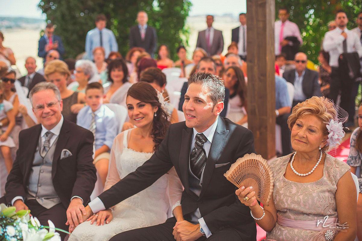 Ceremonia en Hospes Palacio de Arenales (Cáceres) [Boda M&R]