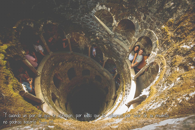 """#365VecesTeQuiero – 524 """"Y cuando un par de ojos te atrapan, por más que te esfuerces por salir de su encanto, no podrás hacerlo"""" (Sintra – Portugal)"""